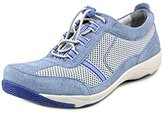 Dansko Women's Helen Light Blue Suede Fashion Sneaker