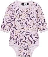 Molo Fonda Dog Print Babysuit