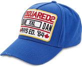 Dsquared2 Logo Cotton Baseball Cap