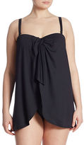Lauren Ralph Lauren Plus Plus One-Piece Flyaway Swimsuit