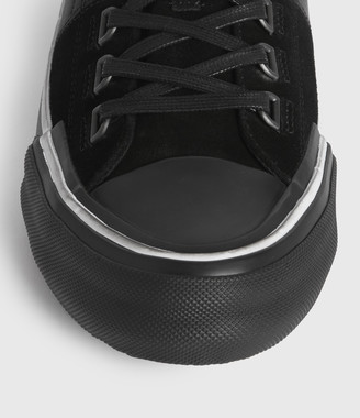 AllSaints Jago Low Top Leather Sneakers