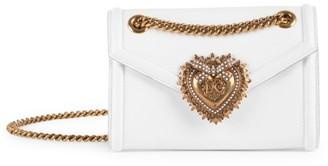 Dolce & Gabbana Mini Devotion Leather Shoulder Bag