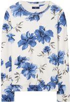 Gant Island Flower Crewneck Sweatshirt