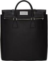 Maison Margiela Black Exposed Lining Tote Bag