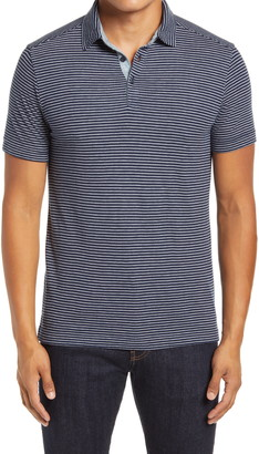 1901 Pinstripe Short Sleeve Polo