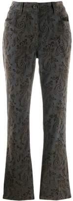 Etro paisley printed jeans