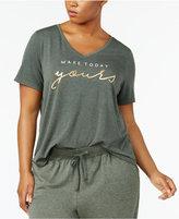 Alfani Plus Size Graphic Pajama T-Shirt, Created for Macy's