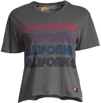Aviator Nation California Repeat Boyfriend Tee