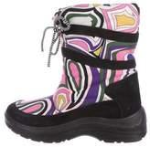 Emilio Pucci Printed Mid-Calf Snow Boots