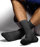 Hanes Men's Dyed Crew Socks (Pack of 6)