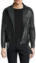 J. Lindeberg Tyrone 66 Leather Jacket