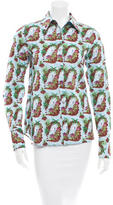 Creatures of the Wind Printed Button-Up Top