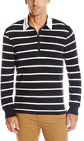 Dockers Thin Stripe Long Sleeve Sueded Jersey Rugby
