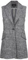 SET Tweed Sleeveless Jacket