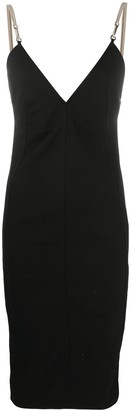 Rick Owens Slim-Fit Midi Dress