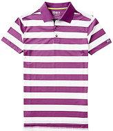 Bobby Jones Golf Rule 18 Candor Striped Pique Short-Sleeve Polo Shirt