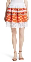 Tory Burch Women's Austen Embellished Dirndl Skirt