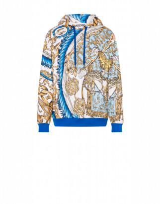 Moschino Technical Sweatshirt Macro Foulard