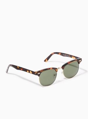 Topman Tortoiseshell Classsic Sunglasses