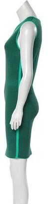 Alexander Wang Striped Mini Dress w/ Tags Green