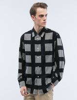 soe Printed Block Check Shirt