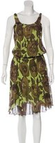 Moschino Cheap & Chic Moschino Cheap and Chic Silk Midi Dress