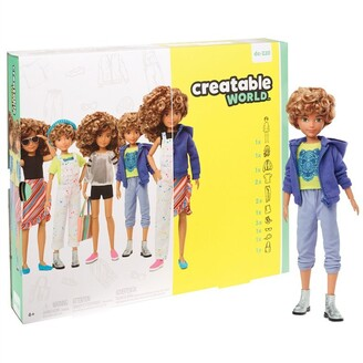 Mattel CNVS Deluxe Character Kit 4 LIGHT BROWN HAIR & SKIN