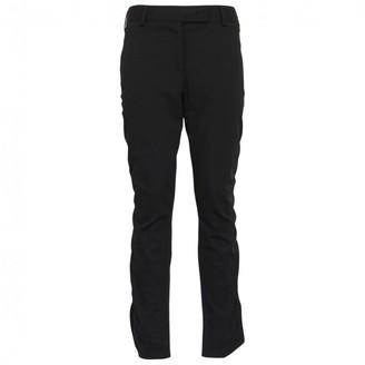 Prada Black Cloth Trousers for Women