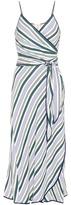 Tory Burch Villa Striped Wrap Dress