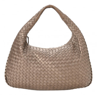 Bottega Veneta Veneta Metallic Leather Handbags