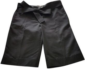 Stella McCartney Black Wool Shorts