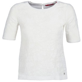 S'Oliver FEDETTE women's T shirt in White