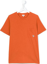 Paul Smith logo plaque T-shirt - kids - Cotton - 16 yrs