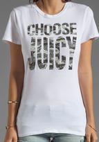 "Juicy Couture Choose Juicy Camo"" Tee"