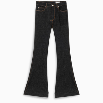 Alexander McQueen Narrow bootcut denim trouser