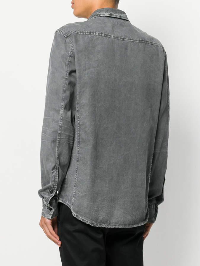Pierre Balmain distressed classic shirt