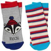 Gymboree Skunk & Stripe Socks