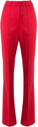 Rebecca Vallance Rossini high-rise split hem trousers