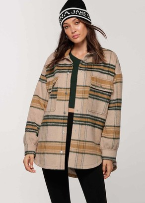 Lorna Jane Heritage Check Shacket