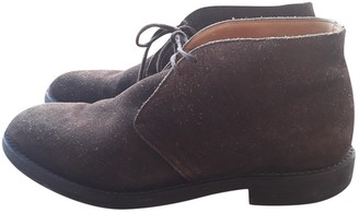 Church's Brown Suede Boots