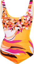 Emilio Pucci Embellished One-Piece Swimsuit