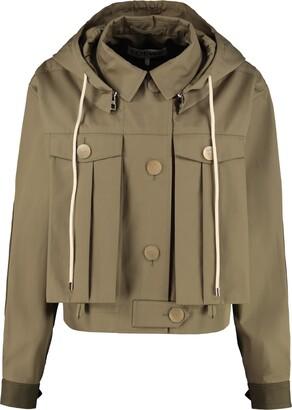 Loewe Hooded Cotton Jacket