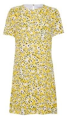 Dorothy Perkins Womens Billie & Blossom Multi Colour Short Sleeve Shift Dress