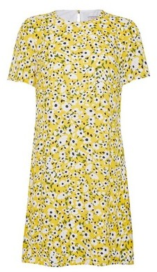 Dorothy Perkins Womens Billie & Blossom Multi Colour Short Sleeve Shift Dress
