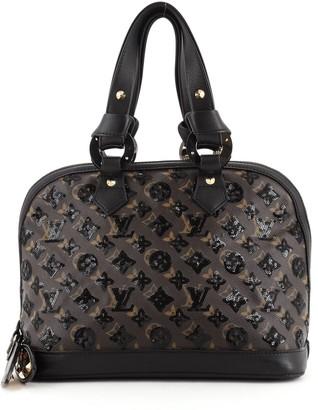 Louis Vuitton Alma Handbag Limited Edition Monogram Eclipse Sequins PM