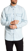 Zanerobe Patch Rugger Long Sleeve Shirt