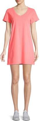 Calvin Klein Short-Sleeve Cotton T-Shirt Dress