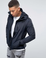 Firetrap Hooded Funnel Neck Jacket