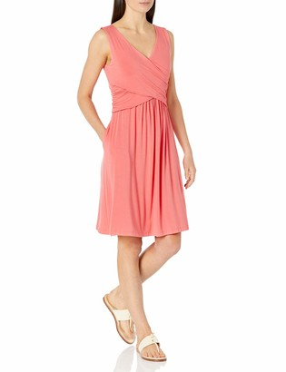 Amazon Essentials Sleeveless Crossover Dress