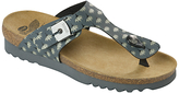 Scholl Boa Vista Toe Post Sandals, Dark Grey